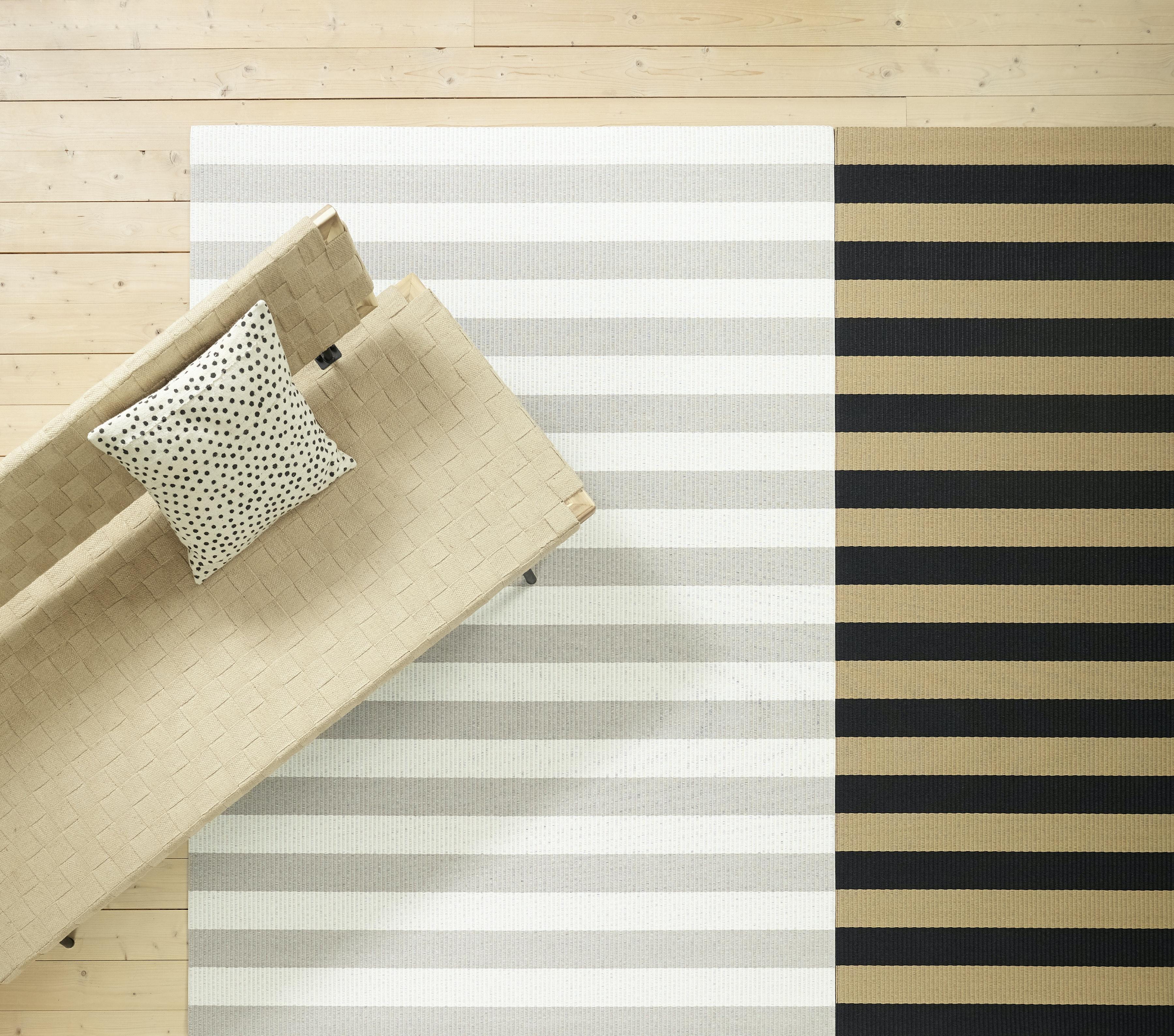Big Stripe Rug by Woodnotes