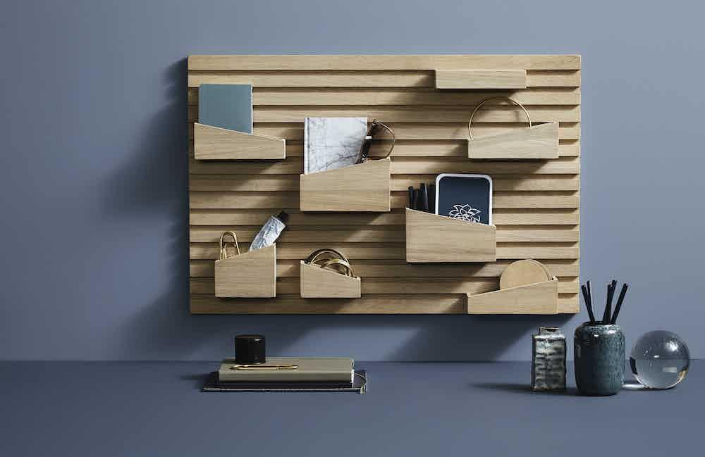 Woud furniture input organizer insitu haute living