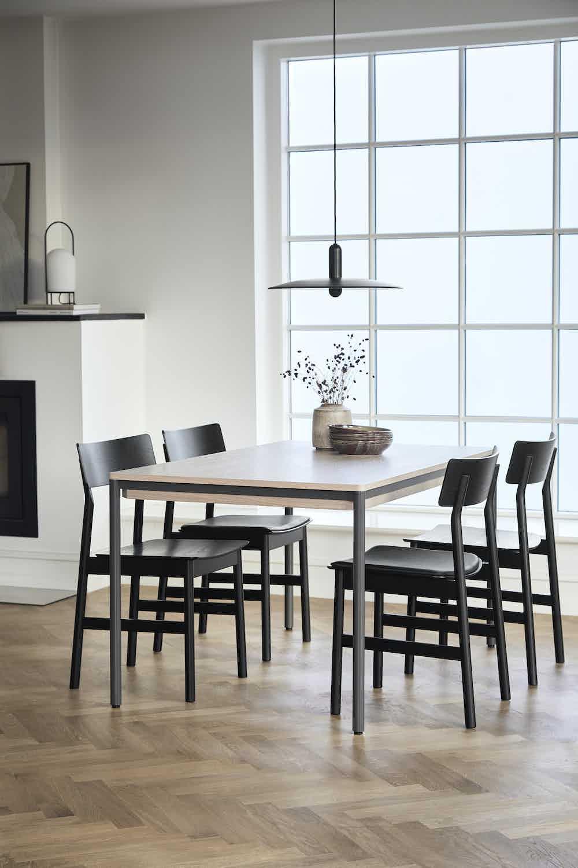 Woud furniture piezas extendable dining table insitu haute living