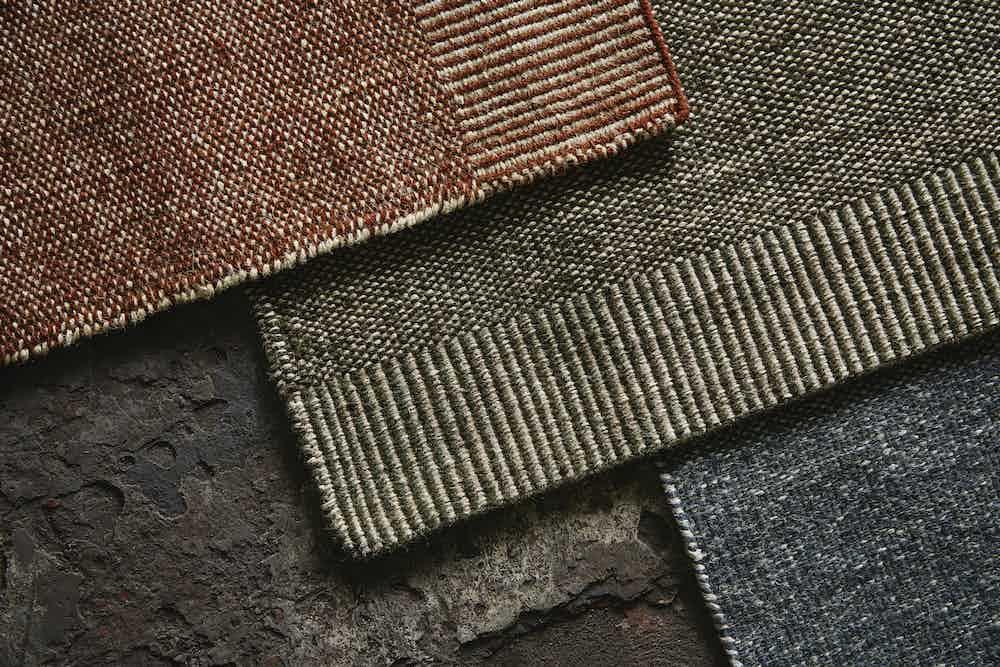 Woud furniture rombo rug details haute living