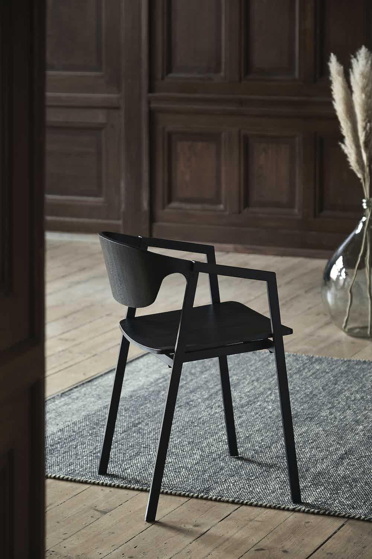 Woud furniture sac dining chair back insitu haute living