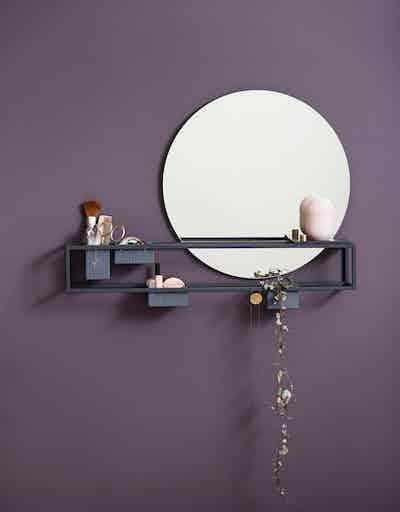 Woud mirror box insitu haute living
