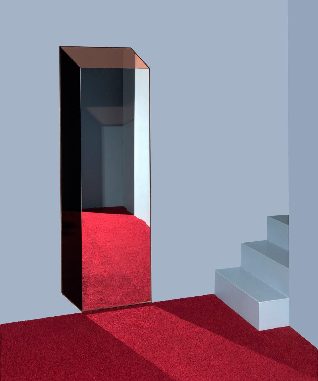 bower cuboid optical illusion mirror at haute living chicago