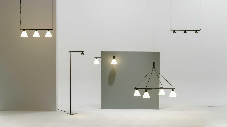 Ago lighting probe chandelier haute living