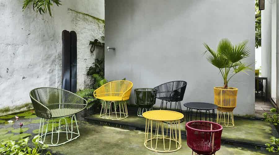 Ames furniture design circo lounge chair insitu assorted haute living 200630 172948