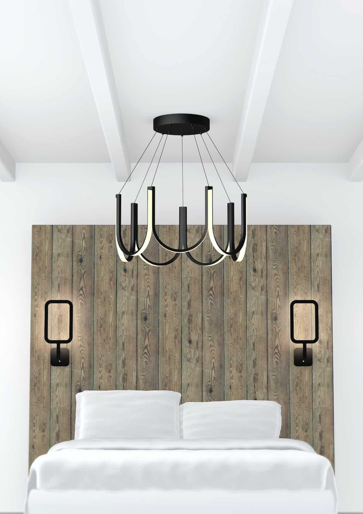 Arpel lighting u series at haute living chicago