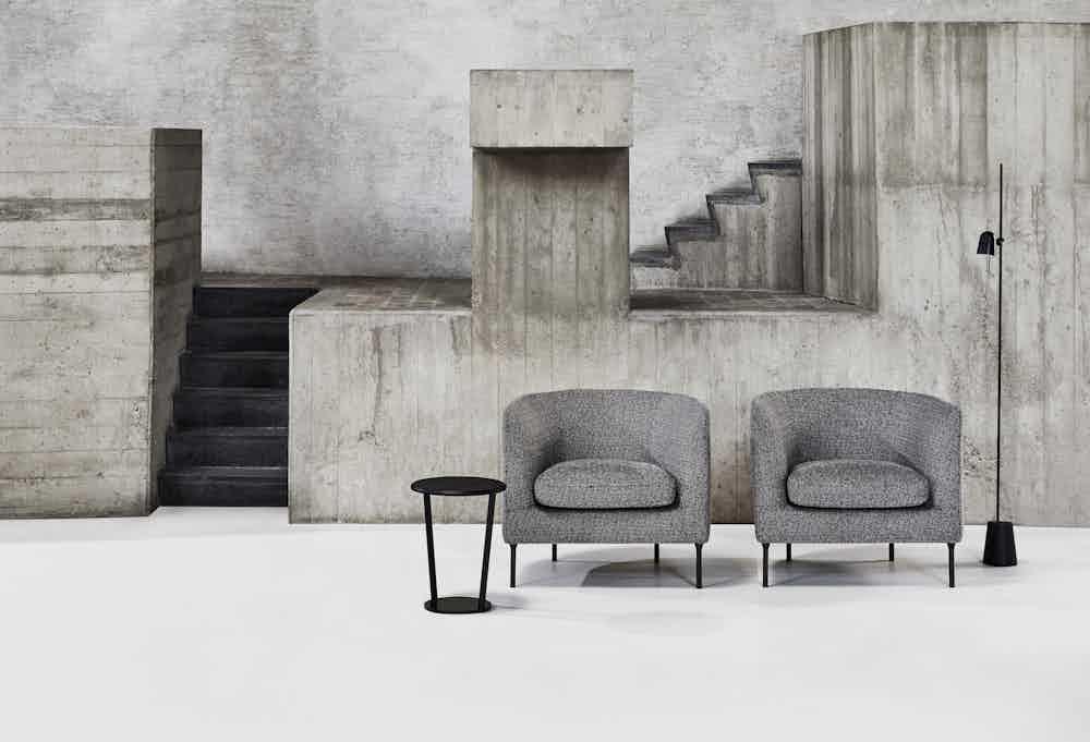 Bensen furniture delta club chair insitu duo haute living