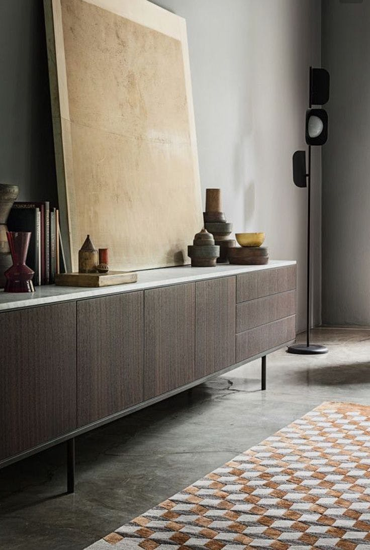 caccaro sideboard at haute living chicago