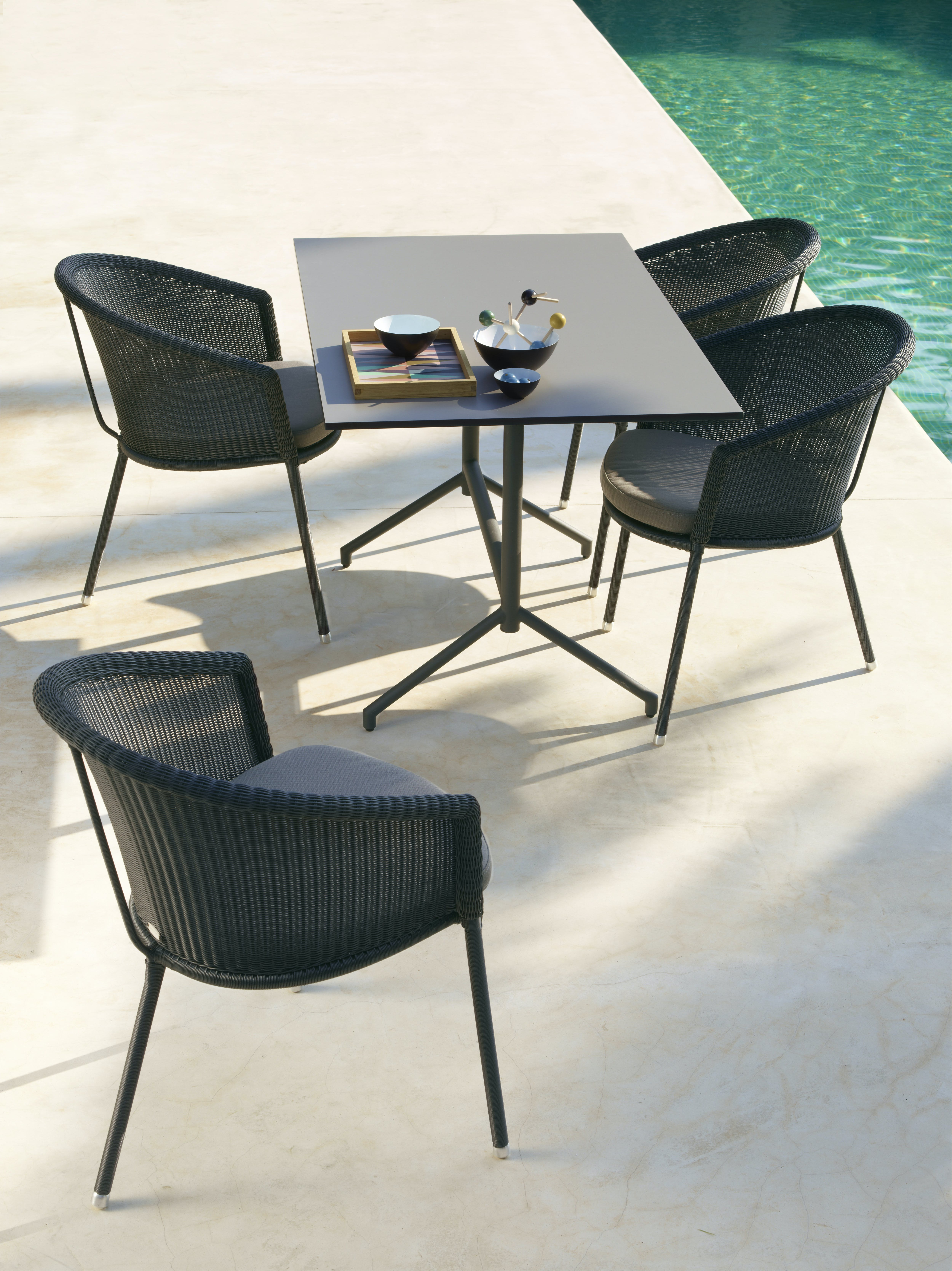 cane-line outdoor patio furniture haute living