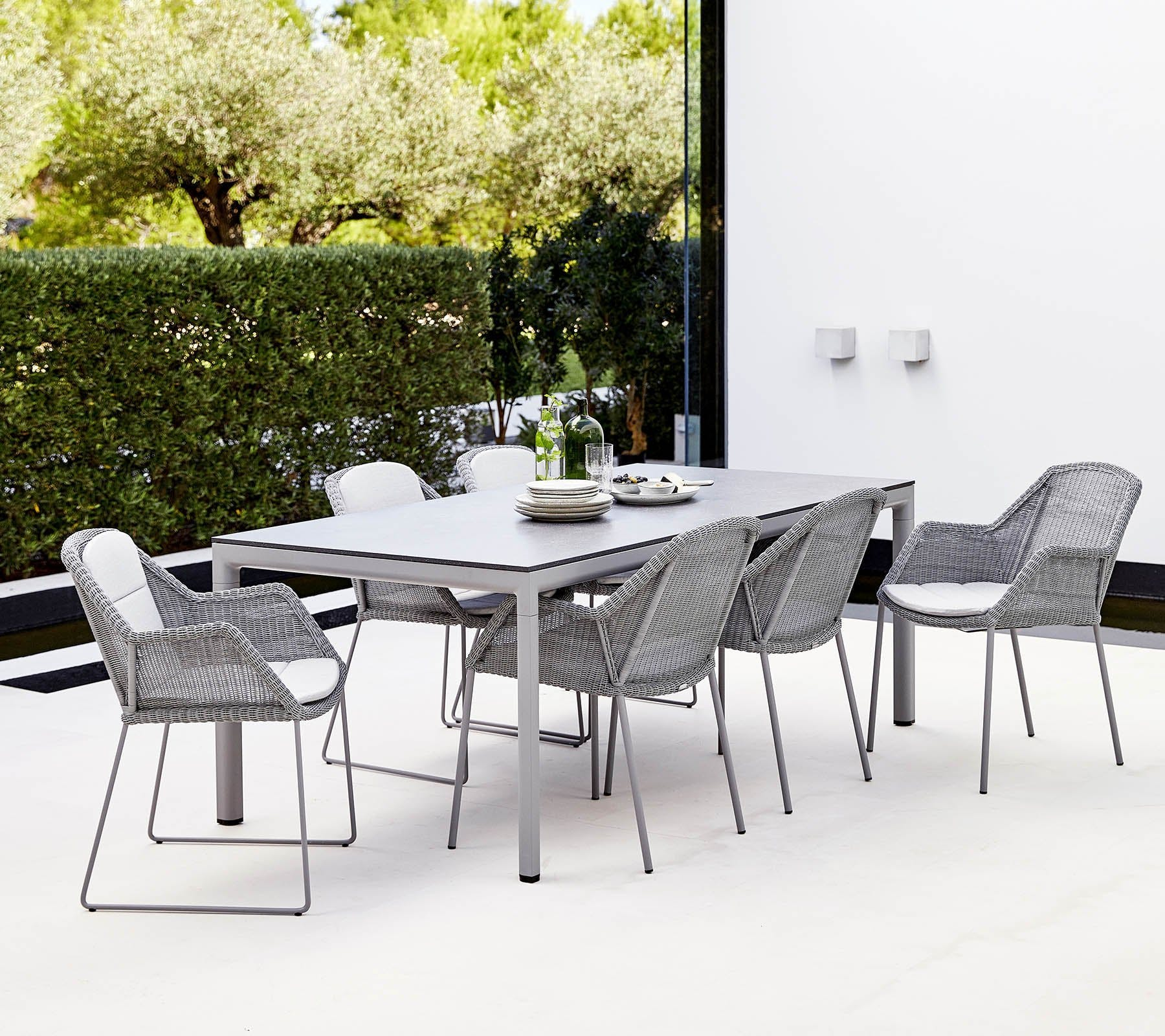 Cane-line-long-grey-drop-table-institu-haute-living