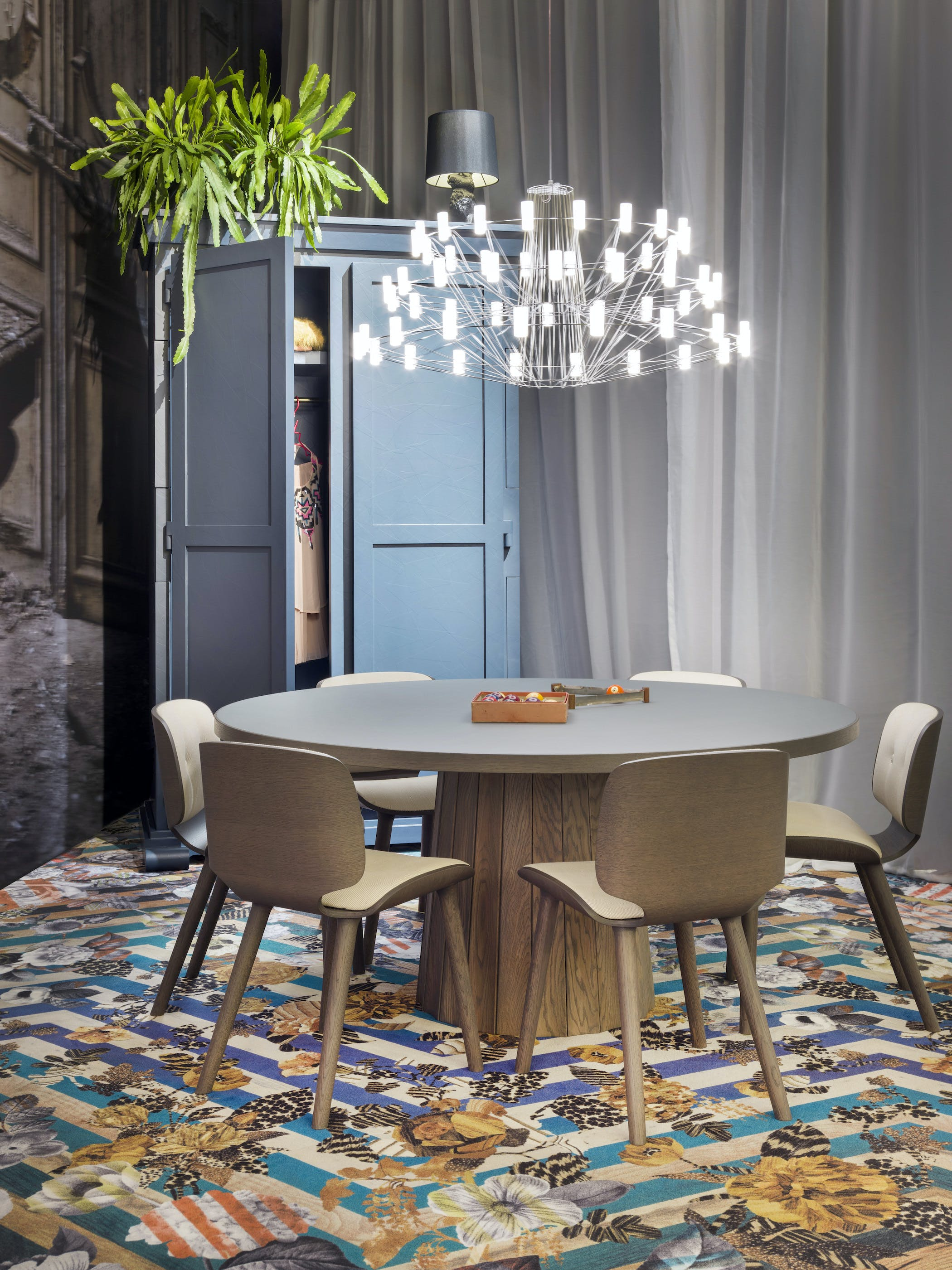 moooi coppelia light at haute living chicago