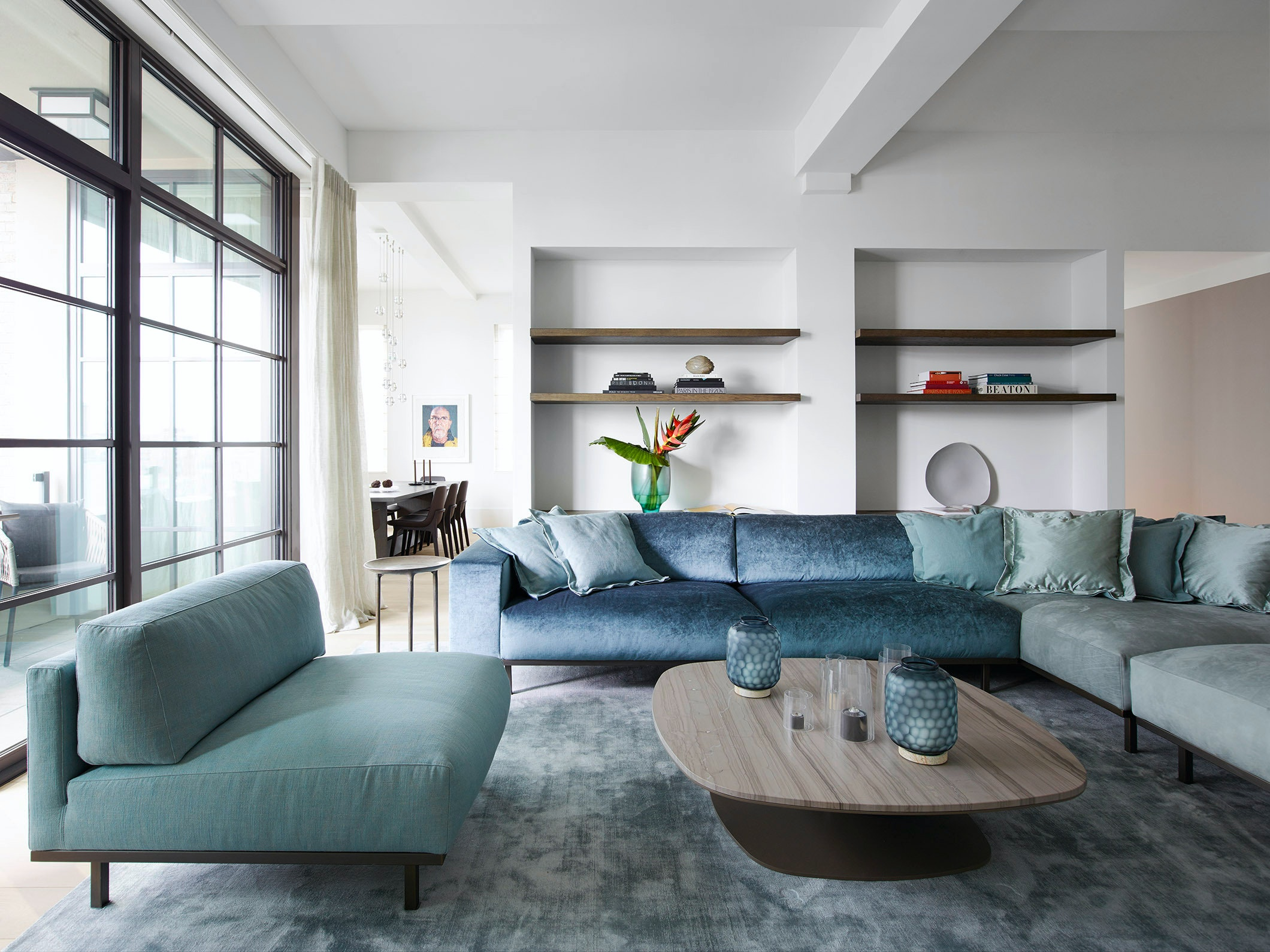 Design Project Private Residence Us Metropolitan Penthous New York Don Sofa Kek Coffee Table Rp A 008 Big