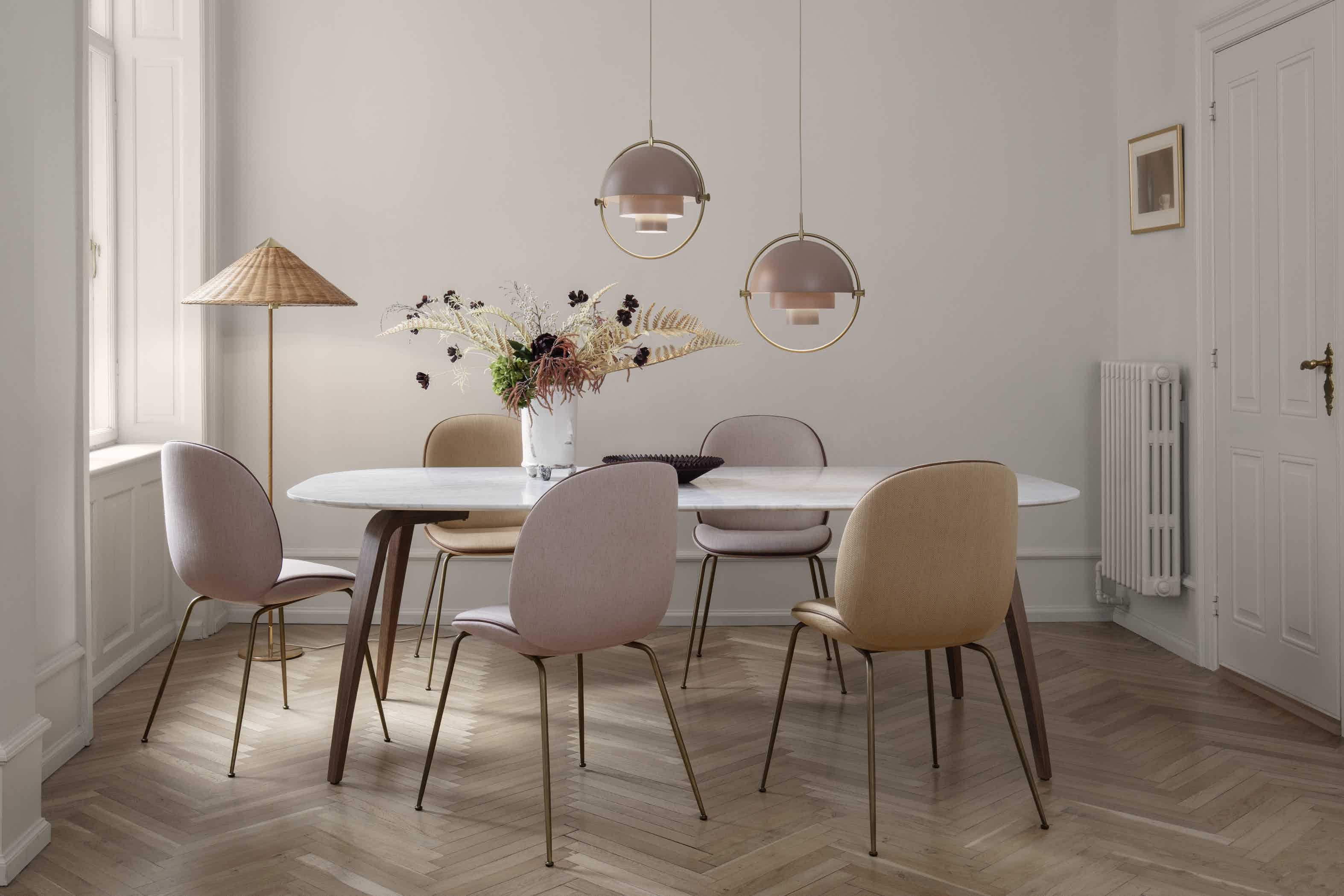 Gubi Beetle Chair Dining Insitu Haute Living