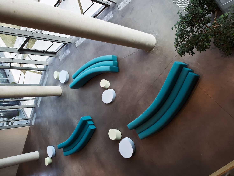 Lacividina osaka sofa turquoise insitu haute living copy