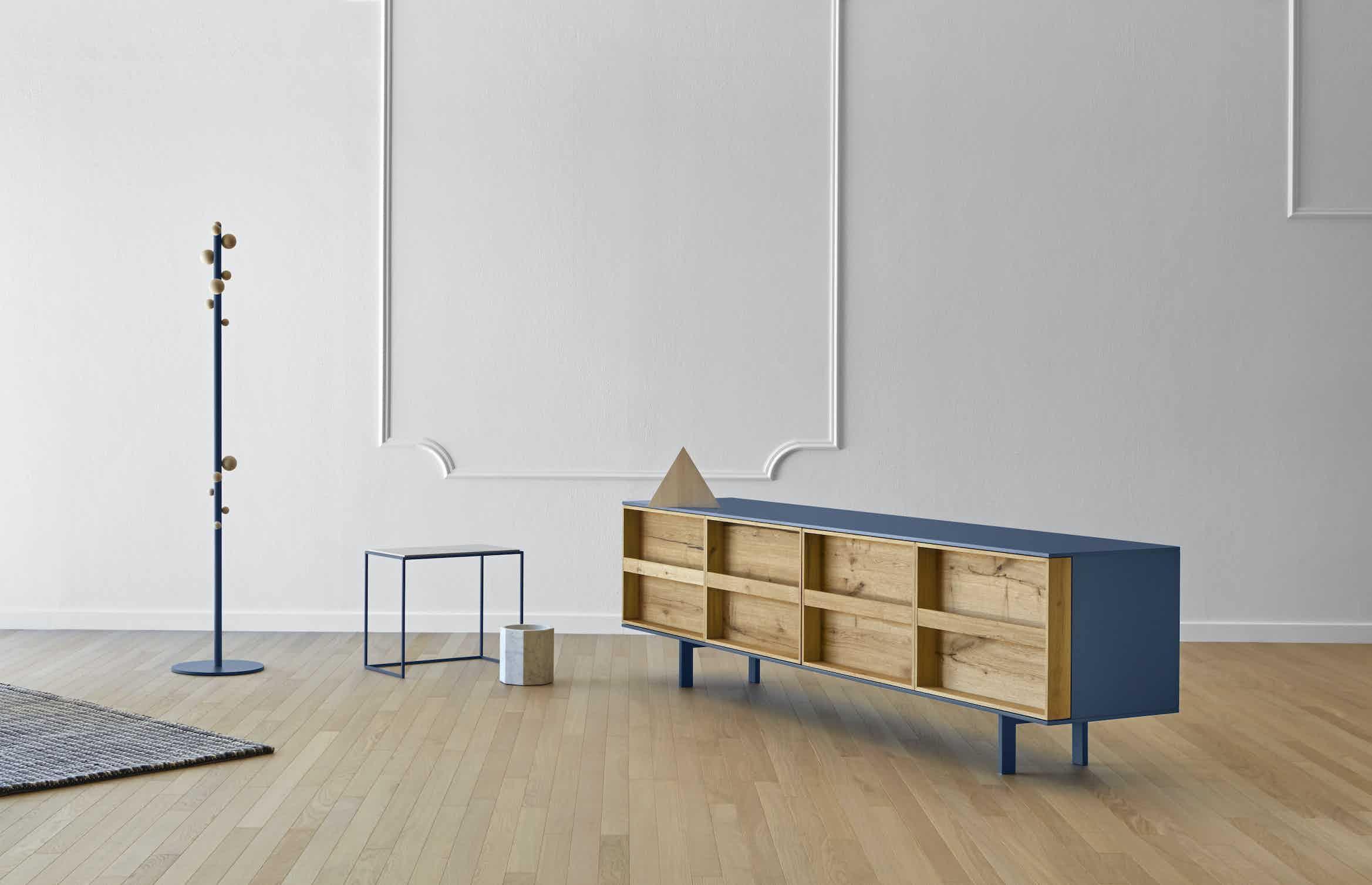 Miniforms ramblas sideboard white angle haute living