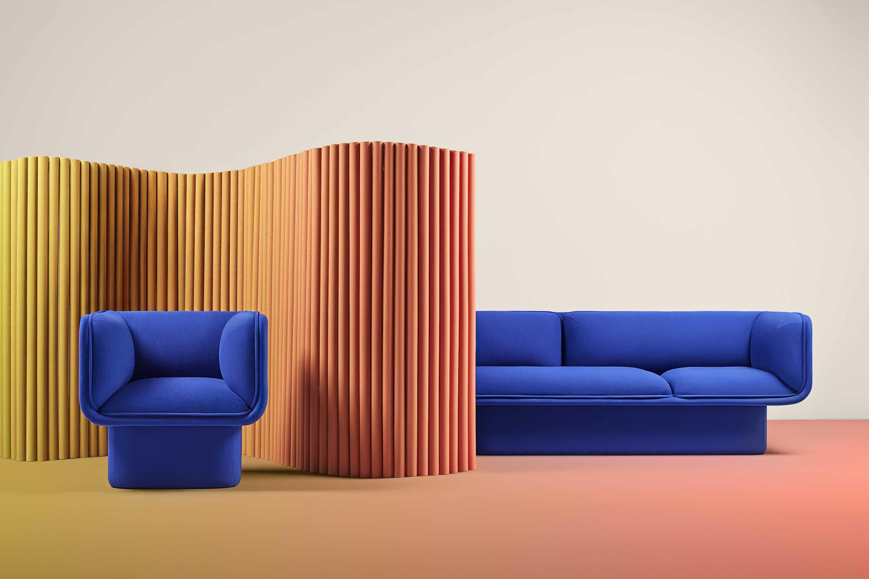 Missana block sofa insitu haute living