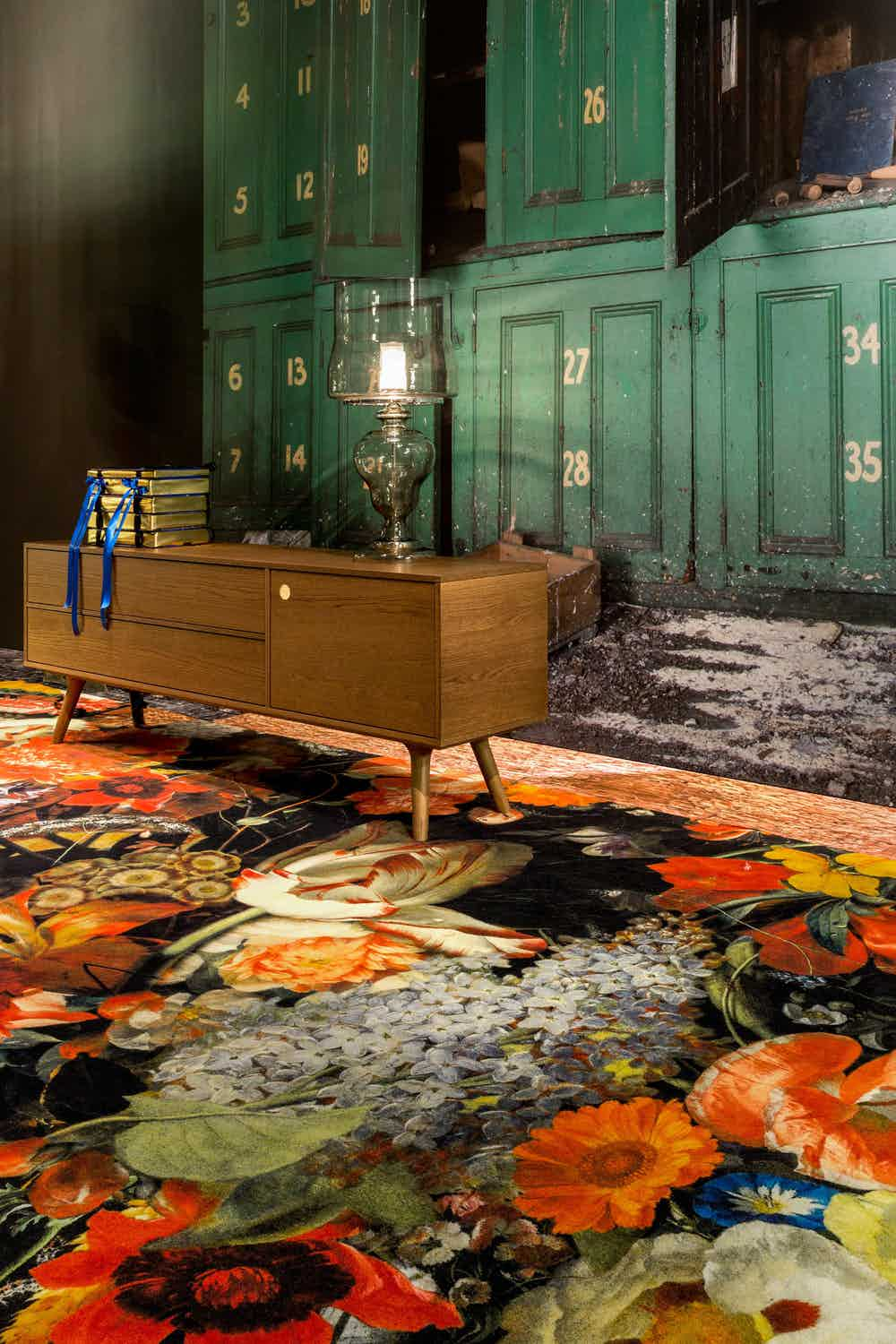 moooi carpets at haute living chicago