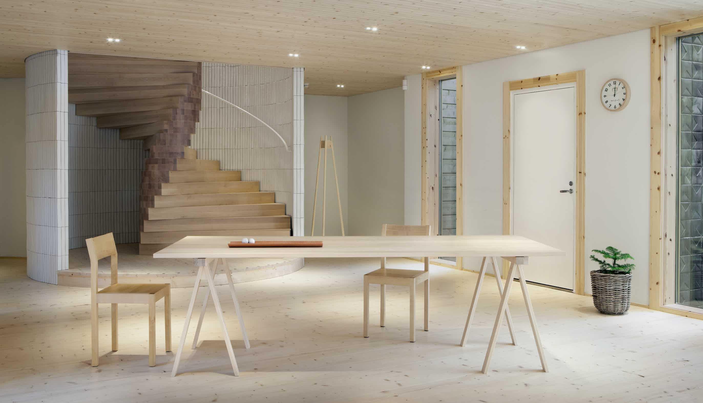 Nikari furniture arkitecture table insitu haute living