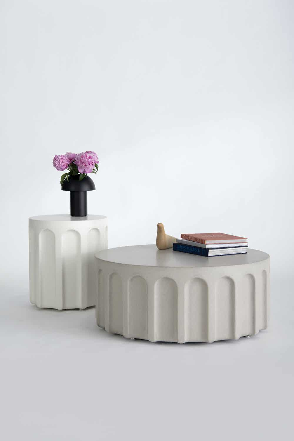 Phase design forum side table insitu haute living