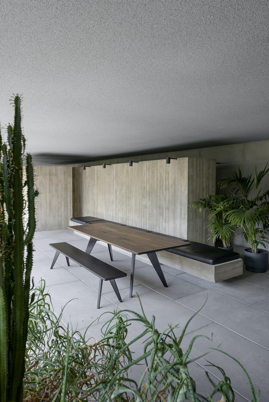 poiat finnish wood design lavitta bench at haute living