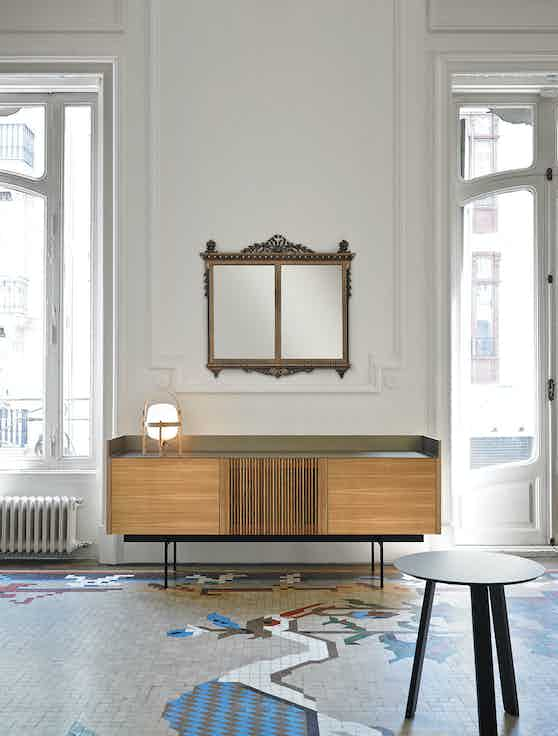 Punt Furniture Light Sideboard Insitu Haute Living
