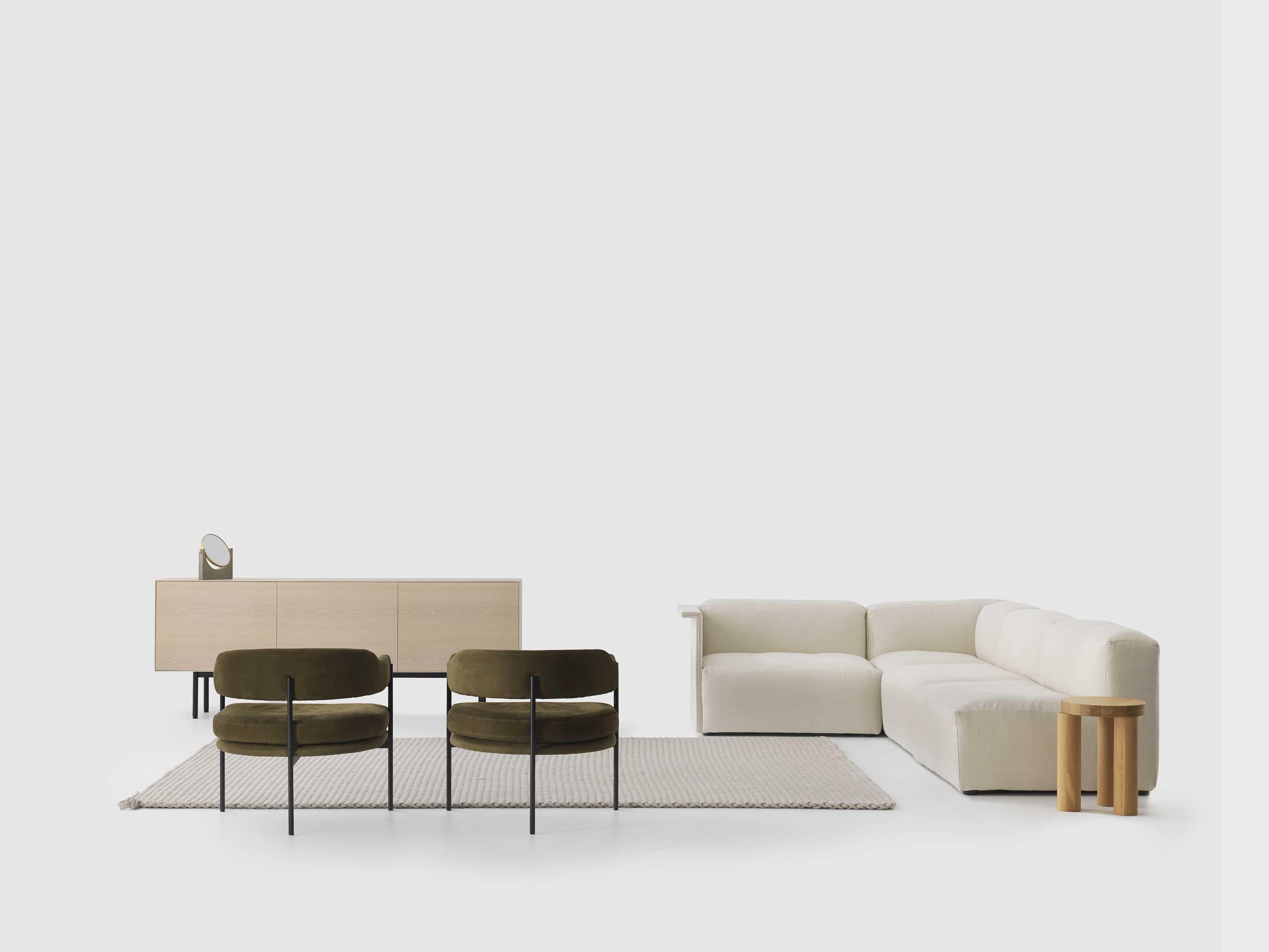 Resident furniture isabella chair back insitu haute living