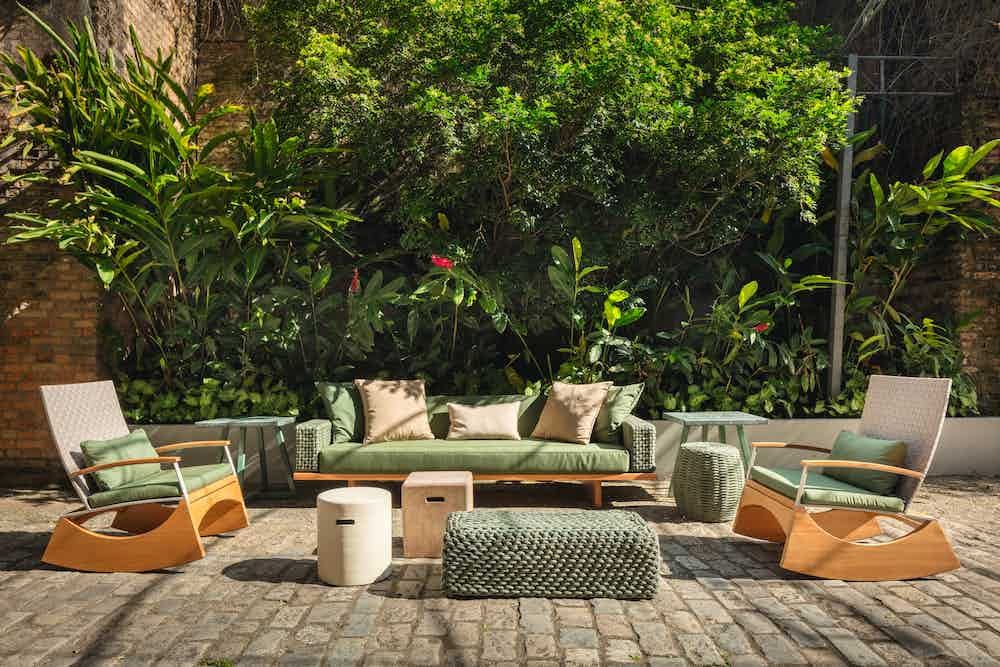 Shop tidelli rope outdoor furniture from brazil at haute living chicago