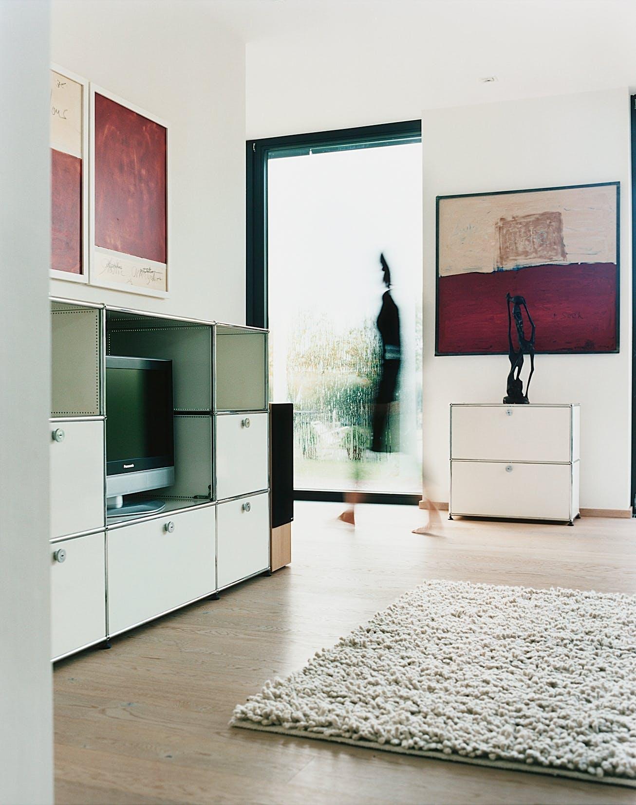 usm haller cabinet storage system at haute living