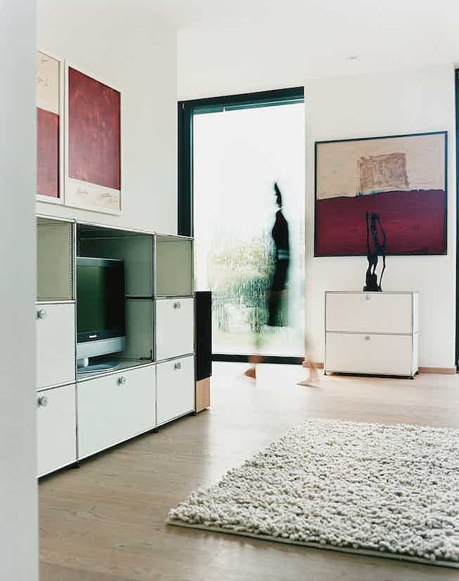 usm haller cabinet storage system at haute living