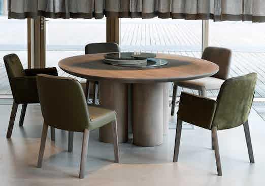 1Product Design Dining Milan Furniture Fair 2017 Olle Table Minne Chair Ec 006 Tall
