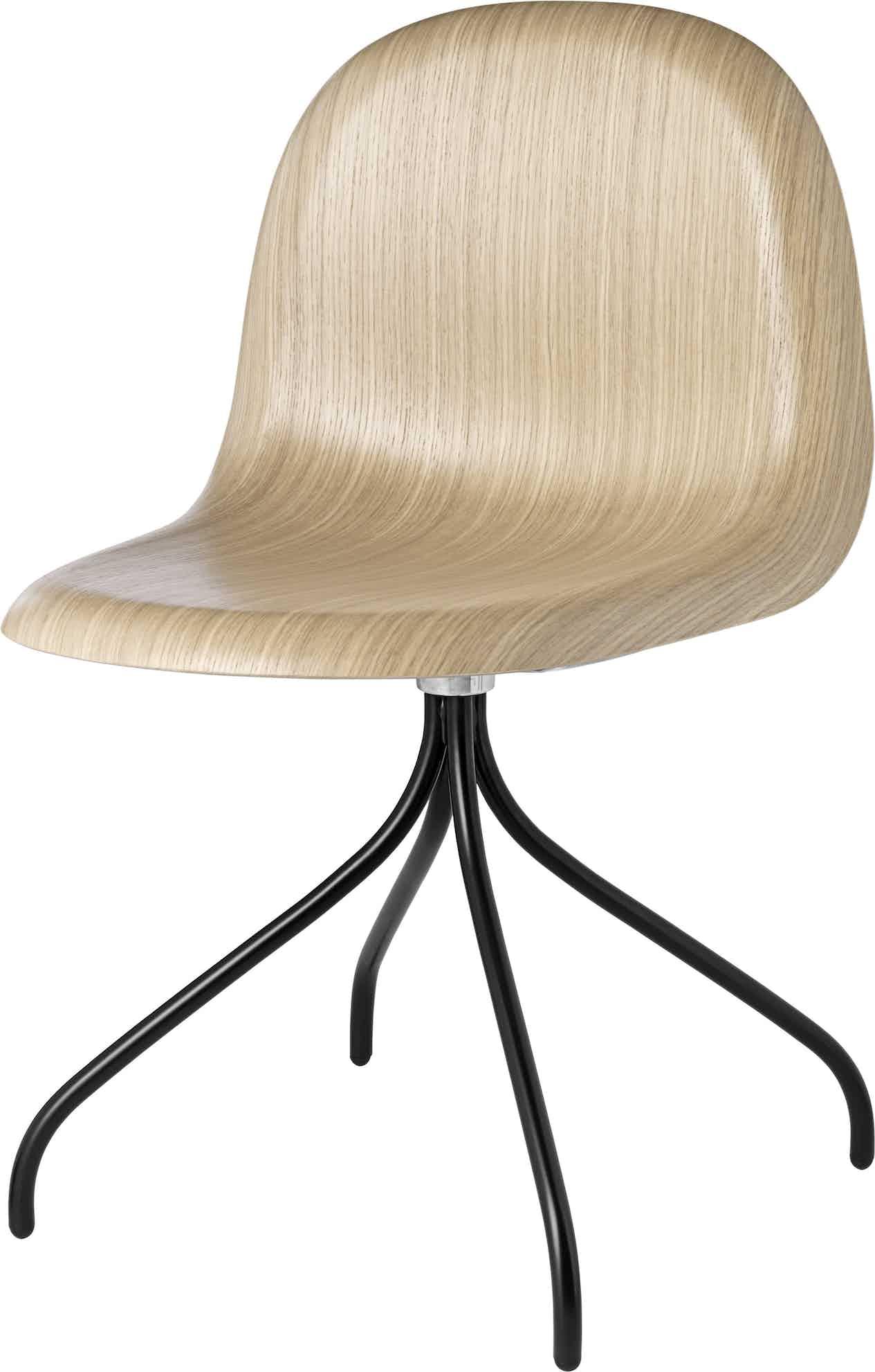 Gubi 3D Meetin Chair Black Haute Living