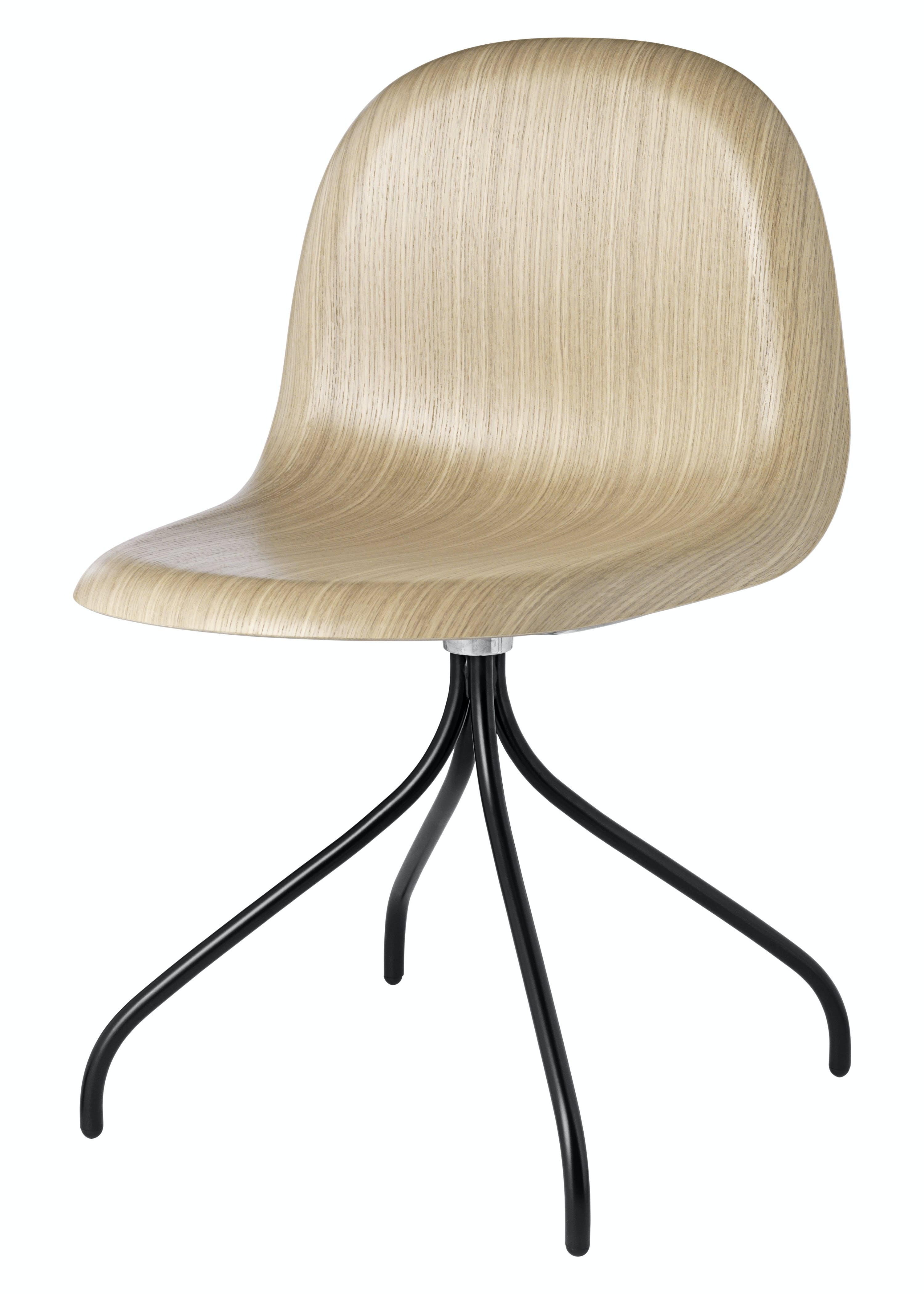 Gubi 3D Meetin Chair Black Thumb Haute Living