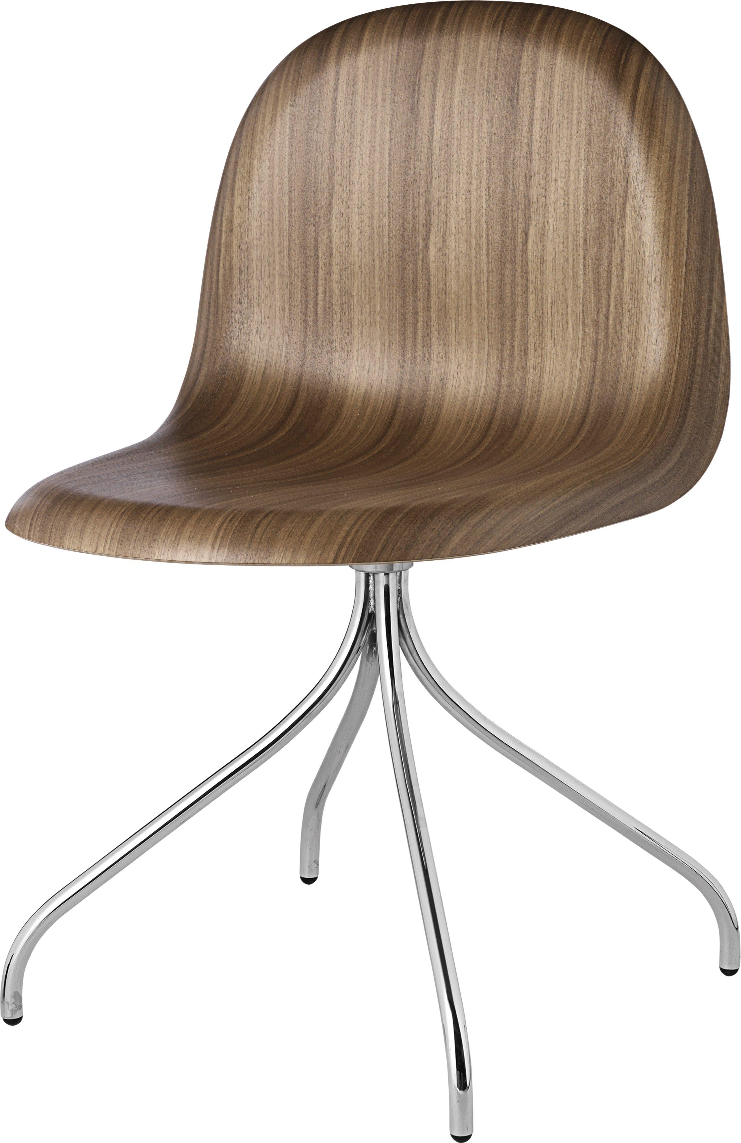 Gubi 3D Meetin Chair Chrome Haute Living