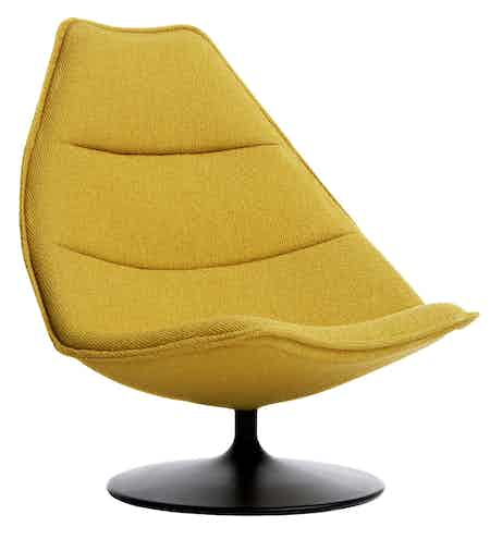 Artifor 500 Series Chair Yellow Thumbnail
