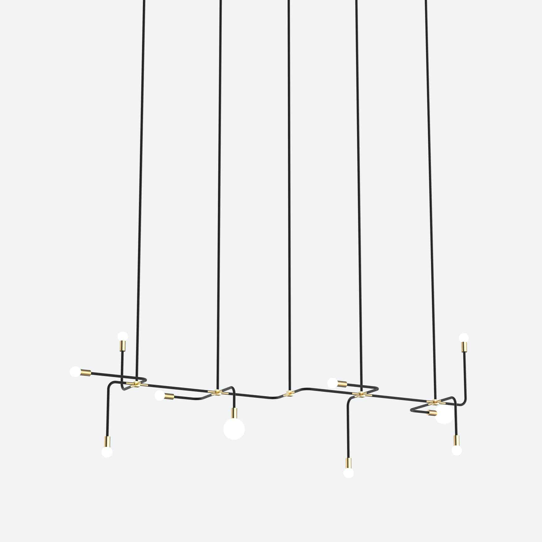 lambert & fils beaubien 06 hanging lamp haute living