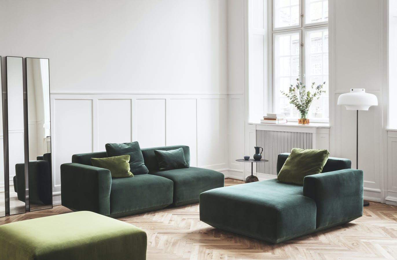 Develius Sofa By Tradition At Haute Living