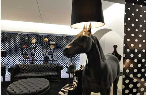 Horse-Lamp-with-Pig-Table-by-Moooi-at-Haute-Living