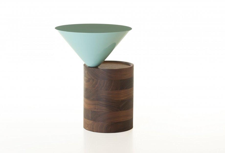 Laurel Side Table In Walnut By Luca Nichettoweb 920X625