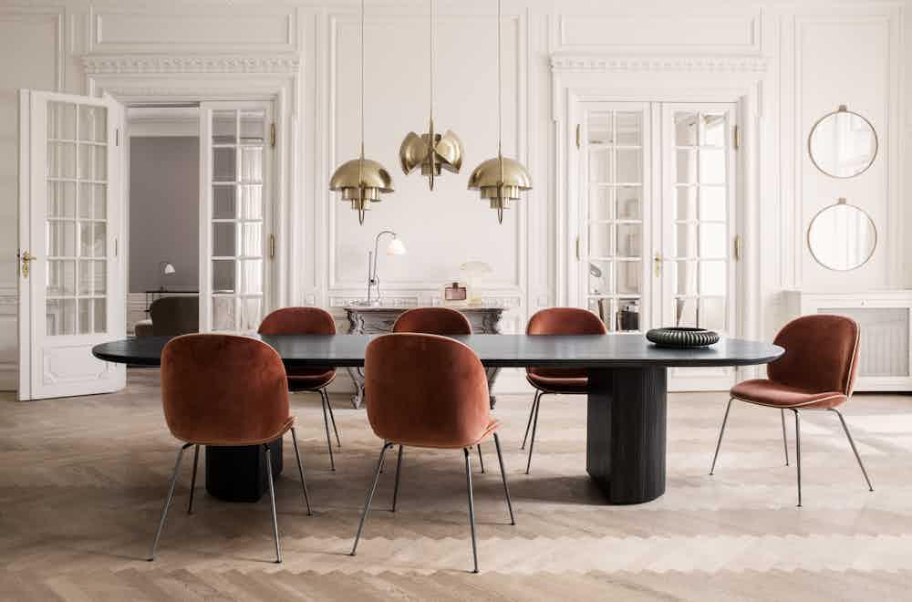 Randaccio Mirror Ø60 Beetle Chair Velluto641Piping Luca G066 017 Moon Dining Table Oil Multi Lite Brass Bestlite Bl1 Bonechainabrass On