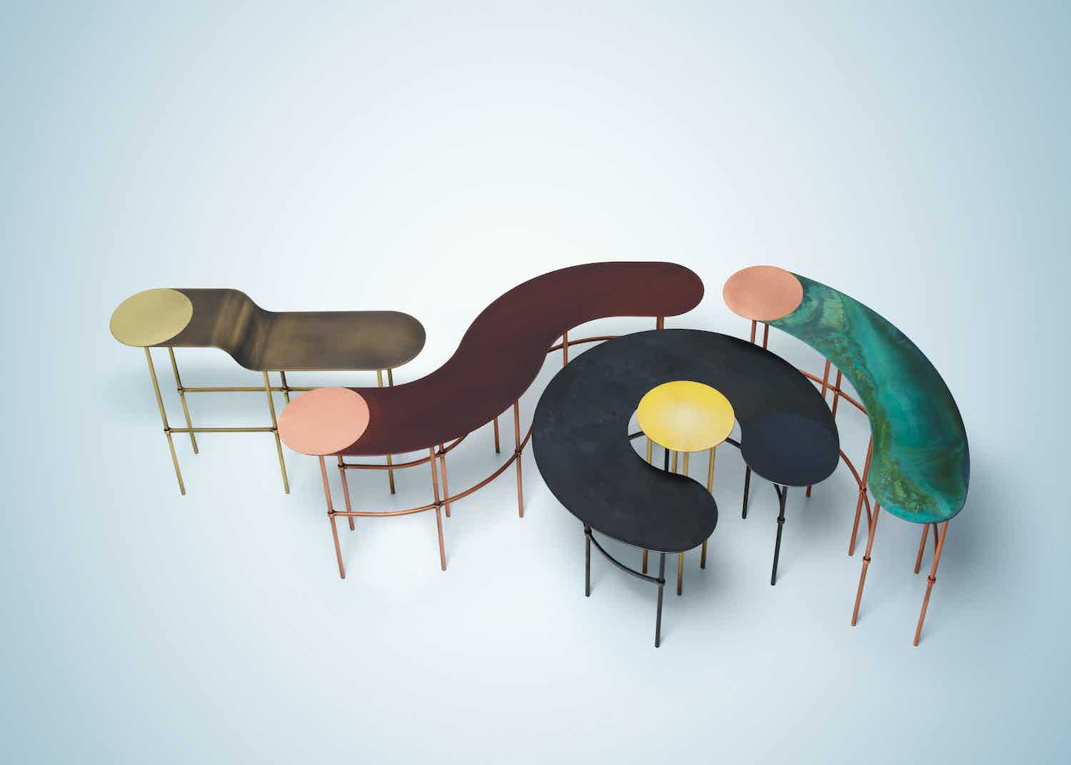 Scribble Tables By De Castelli At Haute Living