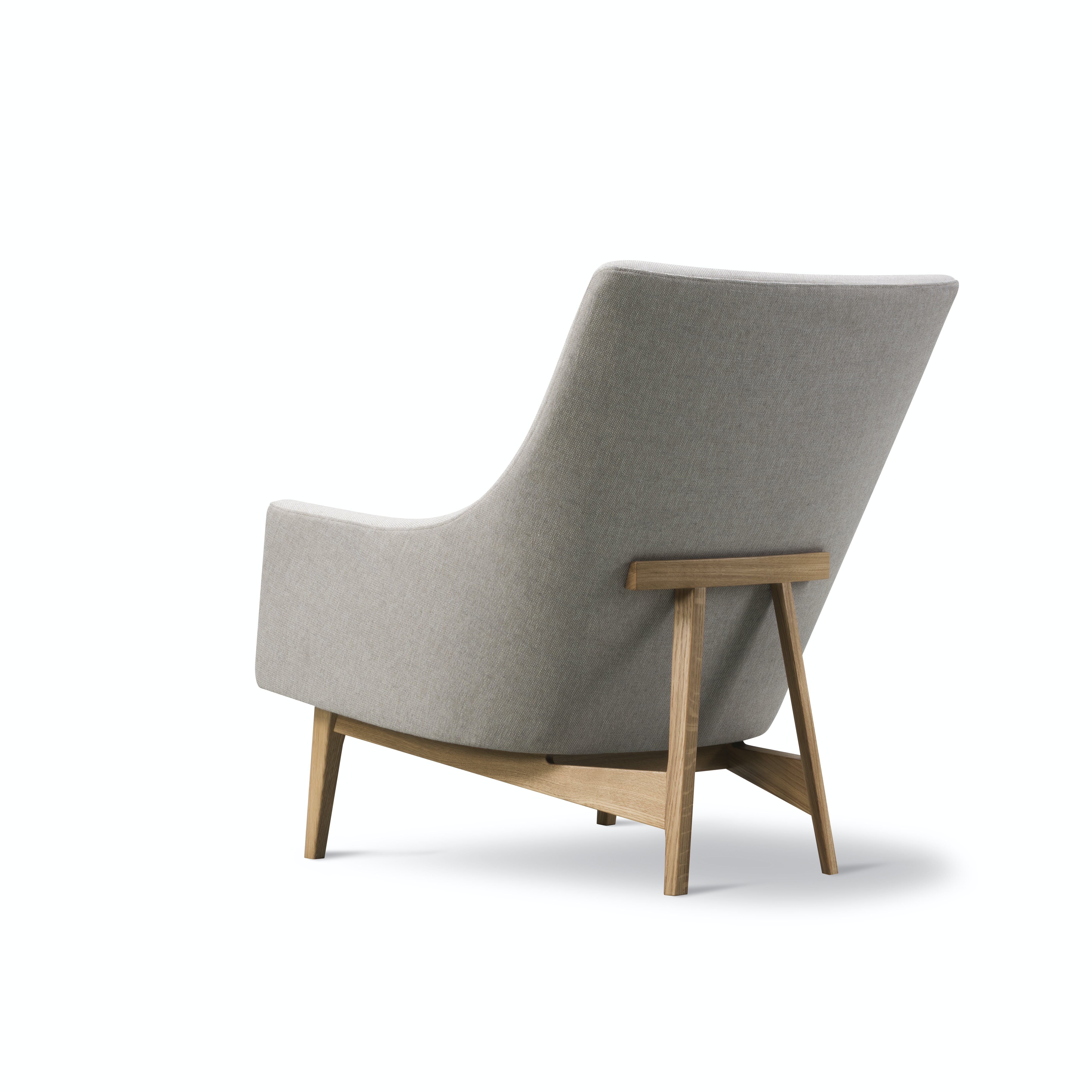 Fredericia A Chair Back Angle Haute Living