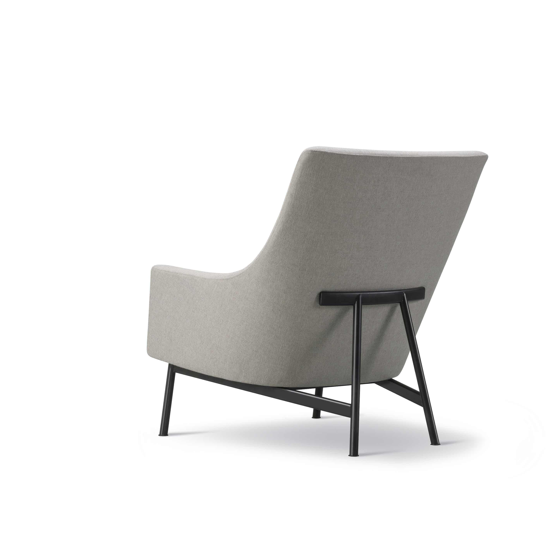 Fredericia A Chair Metal Base Angle Haute Living