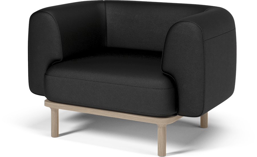 bolia black abby armchair haute living