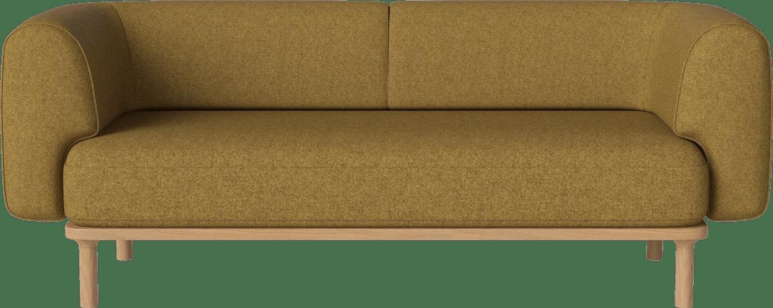 bolia yellow abby sofa haute living