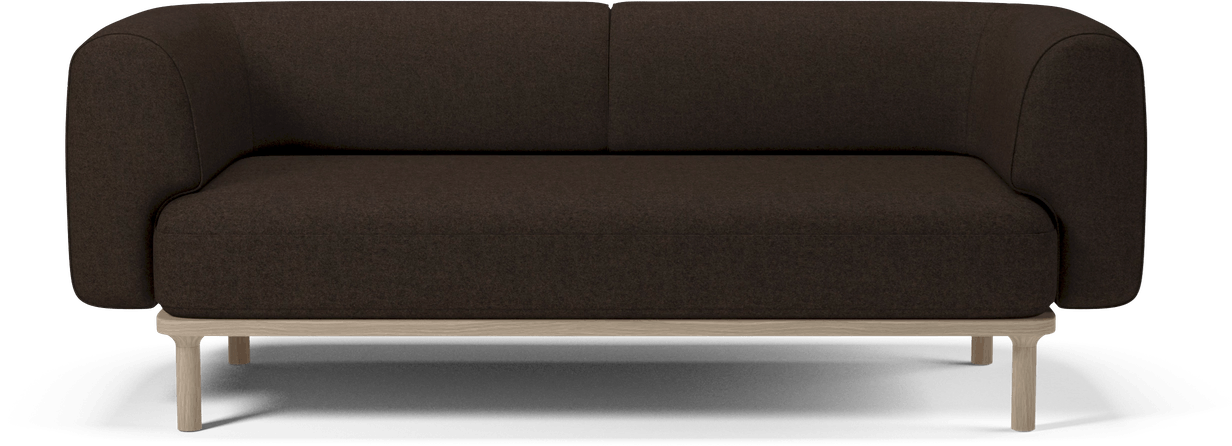 bolia brown abby sofa haute living