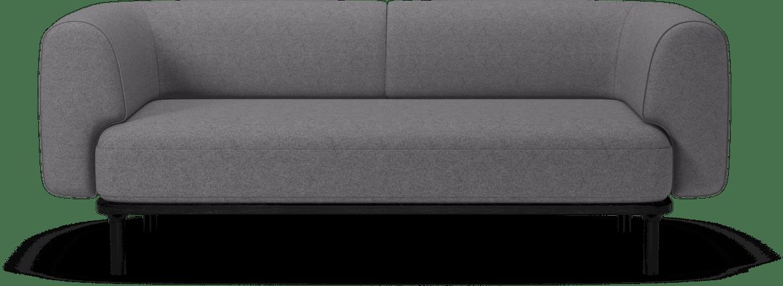 bolia grey abby sofa haute living