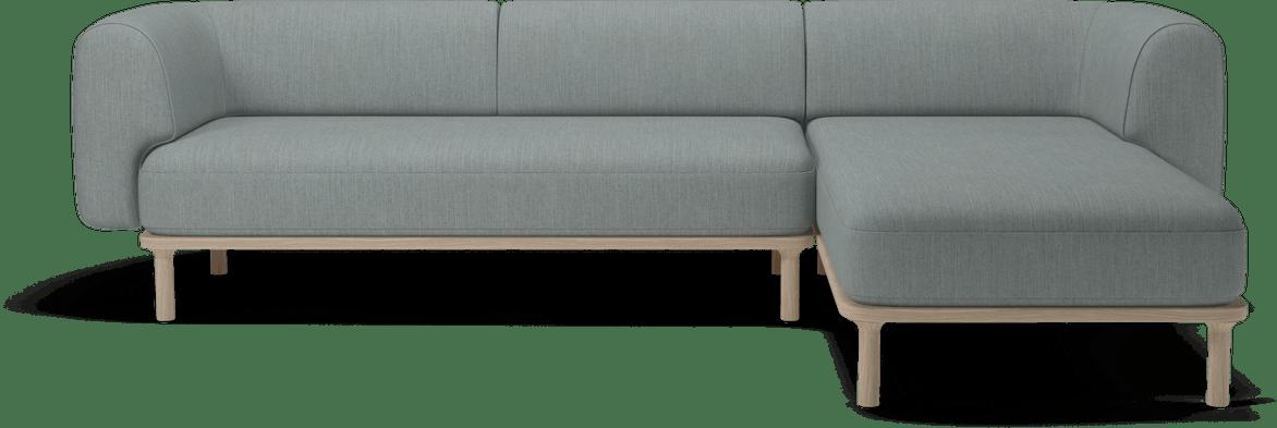 bolia grey abby modular sofa haute living