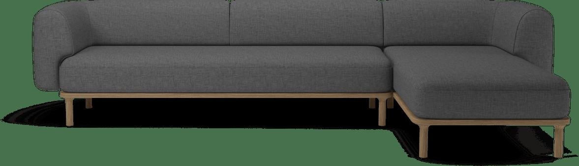 bolia grey sectional abby sofa haute living