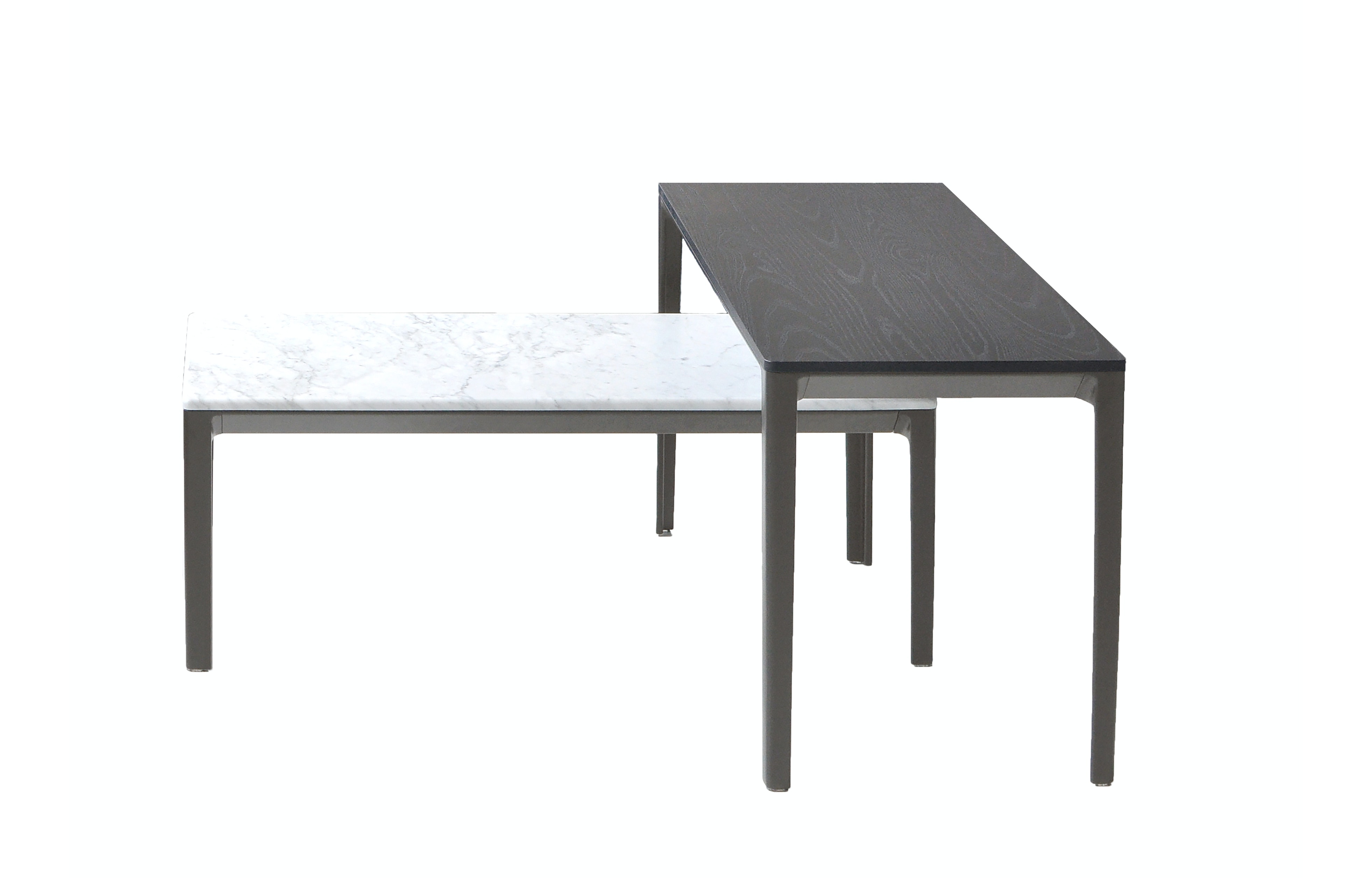 Modern dining tables by contemporary designers at haute living bensen able occasional low table 1 graphite leg copy watchthetrailerfo