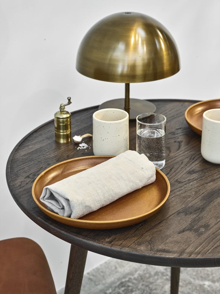 Mater Accent Cafe Table Insitu Detail Haute Living